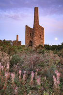 MOON AND ENGINE HOUSES (Wheal Peevor)