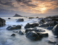 PLACEMAT Mounts Bay Sunset