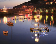 PLACEMAT Mousehole Lights
