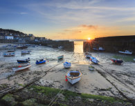 PLACEMAT Mousehole Sunrise