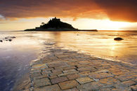 THE CAUSEWAY TO ST MICHAEL'S MOUNT (Landscape)