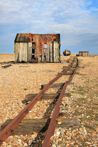 OLD RAIL TRACK (Dungeness)