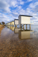 OSEA BEACH HUT REFLECTIONS