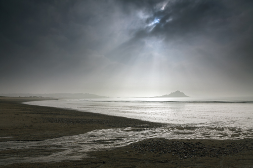 PARTIAL ECLIPSE (St Michael's Mount)