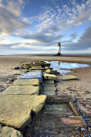 PATH TO THE LIGHTHOUSE (Talacre)
