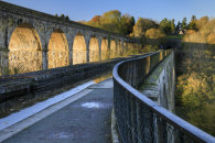 LATE AFTERNOON AT CHIRK AQUEDUCT