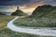 LATE LIGHT AT LLANDDWYN ISLAND