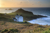 LATE LIGHT ON CAPE CORNWALL
