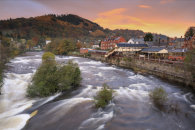 LLANGOLLEN AT SUNRISE