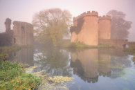 MISTY MORNING AT WHITTINGTON CASTLE