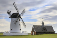 MORNING AT LYTHAM WINDMILL