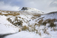 SNOWY MORNING (Pen-y-ghent)