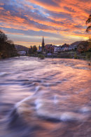 SUNRISE AT LLANGOLLEN