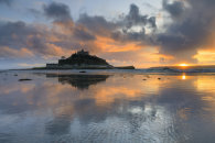 SUNSET REFLECTIONS (St Michael's Mount)