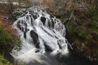 THE AFON LLUGWY AT SWALLOW FALLS