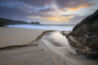 TOWARDS SUNRISE (Porthcurno)