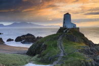 EVENING AT LLANDDWYN ISLAND