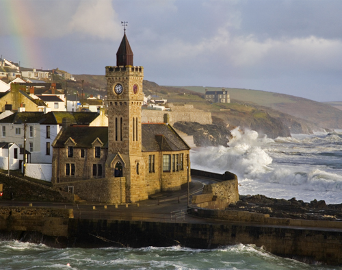 PLACEMAT Porthleven Clock