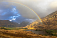 RAINBOW OVER LOCHAN URR