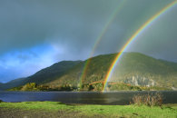 RAINBOWS AT TAYNUILT PIER