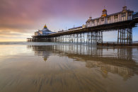 REFLECTIONS AT SUNRISE (Eastbourne Pier)