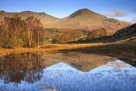 REFLECTIONS IN KELLY HALL TARN