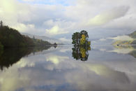 REFLECTIONS IN LOCH TAY