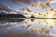 REFLECTIONS OF SUNSET (Perranporth)