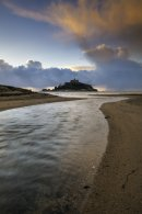 RIVER AT MARAZION  (St Michael's Mount)