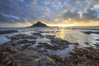 ROCKY SHORE (St Michael's Mount) by Andrew Ray