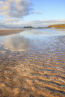 SAND RIPPLES AND REFLECTIONS (Godrevy)