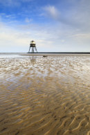 SAND RIPPLES AT DOVERCOURT LIGHTHOUSE