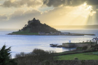 SHAFTS OF LIGHT (St Michael's Mount)