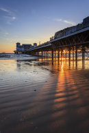 SHAFTS OF LIGHT (Weston Pier)