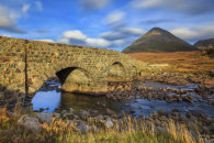 SLIGACHAN BRIDGE AND THE RED CULLINS