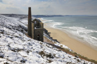 SNOW ABOVE WHEAL COATES