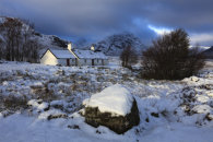 SNOW AT BLACK ROCK COTTAGE