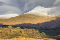 SNOW ON BEN CRUACHAN