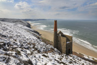 SNOWY MORNING (Wheal Coates)
