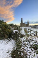 SNOWY SUNSET (Wheal Unity Wood mines)