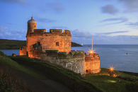 ST MAWES CASTLE AT TWILIGHT
