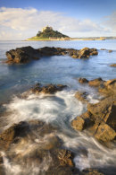 ST MICHAEL'S MOUNT AT HIGH TIDE