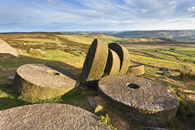 STANAGE EDGE MILL STONES