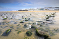 STEPPING STONES IN WINTER (Perranporth)