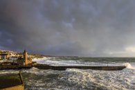 Storm Clouds over Porthleven Pier