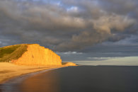 STORM CLOUDS OVER EAST CLIFF (West Bay)