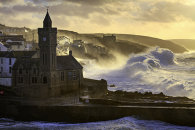 STORMY MORNING (Porthleven)