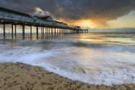 STORM CLOUDS AT SUNRISE (Southwold Pier)