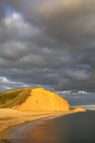 STORMY EVENING AT WEST BAY