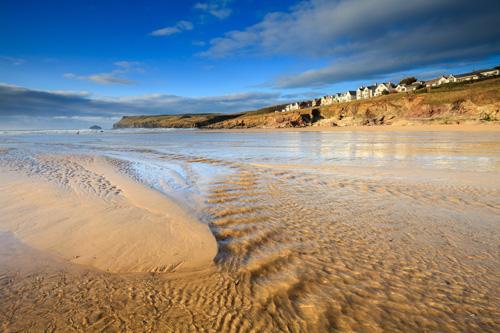 STREAM ON POLZEATH BEACH